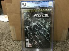 Totally Awesome Hulk #21 Cgc 9.8 Nm/Mt (2016 Series Marvel) 1st H-Alpha-Weapon H