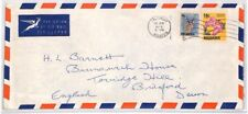 RHODESIA Cover Salisbury Commercial Air Mail FLOWERS ANIMALS 1975 BR294