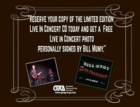 Bill Mumy with Dave Pearlman Live in Concert CD + autograph photo. Now Shipping