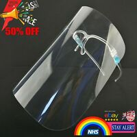 Full Face Shield Visor Glasses Guard Protection Safety Covering Clear Anti Fog