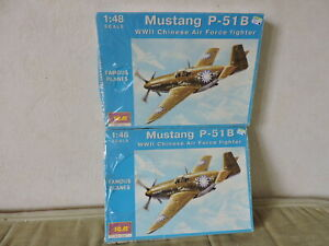maquette Mustang P-51B Chinese Air Force - ICM 1/48 -  NEUF