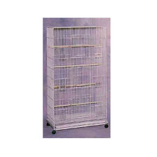 "Bird Cages FLIGHT CAGE 30*18*55"" WHITE (case of 2) birdcages"