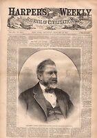 1871 Harpers Weekly January 28-Balloon leaves Paris;Garibaldi Headquarter;Arctic