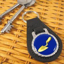Masonic Trowel LeatherKeyring/Keyfob