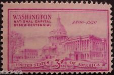 Stamp US 3c Capital Building, Cat. #992 Mint NH/OG