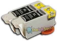 2 noir compatible kodak 10 / k10bk Cartouches d'encre pour imprimante partage facile 5300