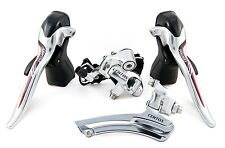 New microSHIFT Double 10 speed CENTOS-SLV Road Derailleur Group Set for Shimano