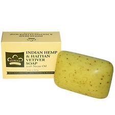 Nubian Heritage Organic Hemp & Vetiver Soap - 141g - Moisturizing & Healing
