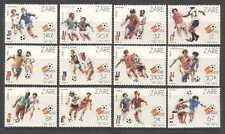ZAIRE 1982 Calcio/WC/Spagna 82/SOCCER 12 V Set (n21468)