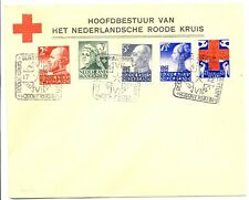NEDERLAND  1927 RED CROSS SPEC POSTMARK/ COVER  VF   @3