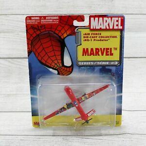 Maisto Marvel Series 3 Spider-Man RQ-1 Predator Die Cast Airplane