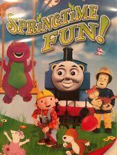 DVD SPRINGTIME FUN WITH BARNEY AND FRIENDS ANGELINA BOB THOMAS FIREMAN  NEW