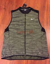 New Nike Aeroloft Flash Running Vest Sz XL Reflective 800 Down $280 689168 Extra