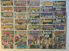 AVENGERS Comics Lot #260-394 W/ Annuals & Strikefile Marvel Comics 40 Books