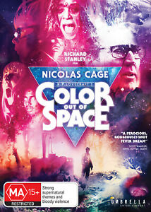 Color Out Of Space (DVD) NEW/SEALED [All Regions]