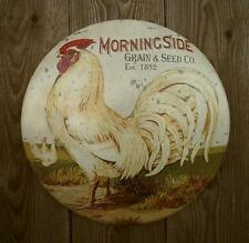 New Rustic Primitive Vtg Antique Style Country Rooster Chicken Farm Kitchen Sign