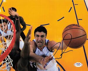 Zaza Pachulia signed 8x10 photo PSA/DNA Autographed Golden Sate Warriors