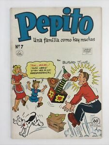 1953 SPANISH MEXICAN COMICS PEPITO #7 HORACE & DOTTY DRIPPLE LA PRENSA MEXICO