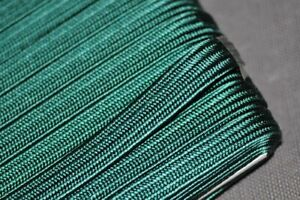 4mm Japanese silk tsuka-ito, green