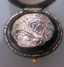 Vintage Silver Men's/Women's Small Saddle Ring Size M Weight 8g Quality Ring