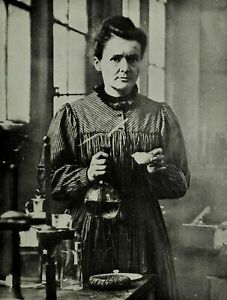 186545 MARIE CURIE SCIENCE POLISH CHEMIST FRANCE DECOR Wall POSTER Print UK