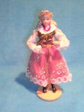 "Spoldzielnia Pracy R.l.i.A. Handmade Dance Doll Lalki Region, 7"" Free Shipping"
