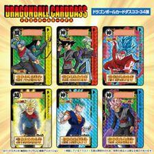 BANDAI Brand New  Dragon Ball Super Carddass set Vol 33 and 34 COMPLETE BOX