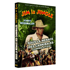 "JIM LA JUNGLE (Sous la Menace des Cannibales) ""TARZAN"" Johnny Weissmuller"