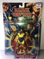 Marvel X-Men Space Wolverine Slashing Space Armor Action Figure ToyBiz 1997