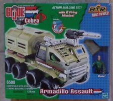 GI Joe 6508 BTR Built To Rule! Armadillo Assault Set w/ Duke Figure MISB 2005