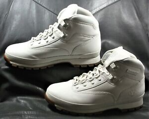 Timberland Ivory nubuck leather lace up ankle hiking boot Men's shoes size US 9M