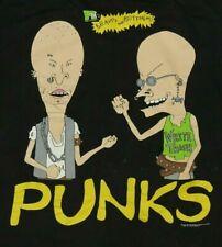 Vintage 1990s Beavis & Butthead Punk T-Shirt Size XL MTV