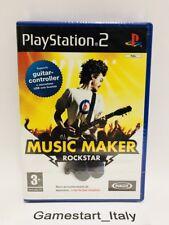 MUSIC MAKER ROCKSTAR - SONY PS2 - NUOVO SIGILLATO - NEW SEALED PAL VERSION