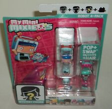 MY MINI MIXIEQS ROBOT 4-PACK New In Package Pop & Swap Outfits & Hair NIP