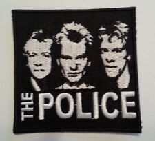 """The Police~Sting~Band Photo~Patch~Embroidered Applique~3"""" x 3""""~Iron or Sew On"""