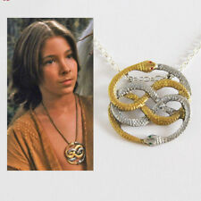 Auryn Handpainted Gold & Silver Amulet Pendant Necklace - The Neverending Story