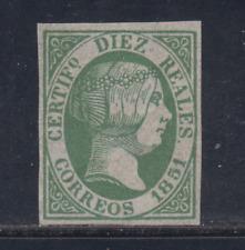 Spain (1851) New Spain - Edifil 11 (10 R) False - Lot 4