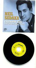 NEIL SEDAKA - Calendar Girl / Happy Birthday, Sweet 16 - 2003 JAPAN CD Single