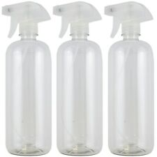 3 PACK 25 oz PLASTIC SPRAY BOTTLE FOR HOME & COMMERCIAL CLEANING Plant Water
