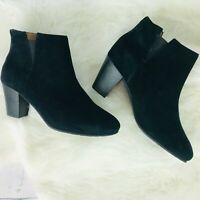 Gentle Souls Brenna Black Womens Ankle Boots Size 7.5 M MSRP $229 NWOB