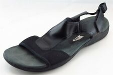 Easy Spirit Sport Sandals Black Leather Women Shoes Size 11 Medium (B, M)