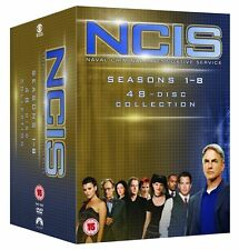 NCIS COMPLETE SERIES 1-8 DVD Season 1 2 3 4 5 6 7 8 Mark Harmon UK Rel New R2