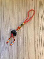 Polished Stone Tribal Pendulum Pendant