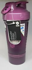 Blender Bottle ProStak 22 oz Free Shipping!! Purple/Plum Color
