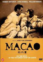 Macao / Josef von Sternberg, Robert Mitchum, Jane Russell, 1952 / NEW