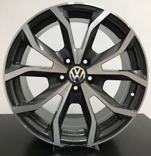 "Set 4 Cerchi in lega Volkswagen Golf 5 6 7 Passat Scirocco TIGUAN DA 17"" NUOVI"