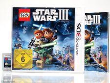 LEGO - STAR WARS III / 3 - THE CLONE WARS ~Nintendo 3 DS / XL / New 3Ds Spiel~