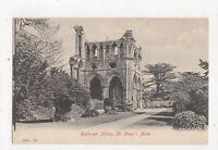 Dryburgh Abbey St Marys Aisle Vintage Postcard 307a