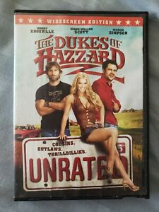 The Dukes of Hazzard (DVD, Unrated, 2005) Burt Reynolds, Jessica Simpson