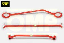 OMP Strut Brace Frontal Inferior Rojo Acero Para Ford Fiesta Mk4//Puma Inc Racing Puma